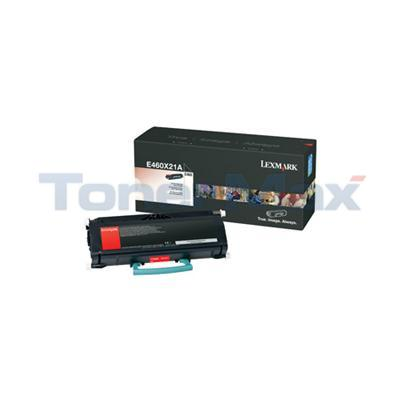 LEXMARK E460DN TONER CARTRIDGE BLACK 15K